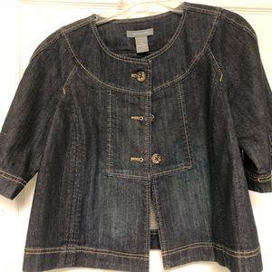 Ann Taylor Denim Jacket XS